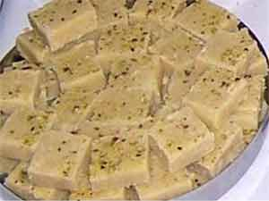 Cashew barfi recipe