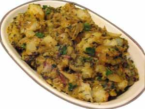 Uttar pradesh recipes cuisine of uttar pradesh indian recipes khaste mathura aloo recipe forumfinder Images
