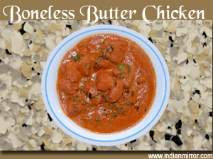 Microwave recipe boneless butter chicken - Herve cuisine butter chicken ...