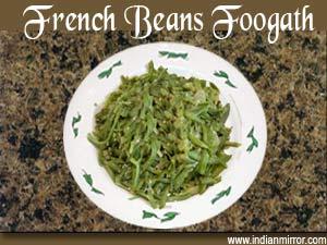 French Beans Foogath