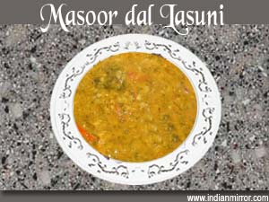 how to cook masoor dal in microwave