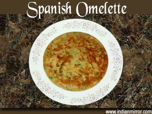 how to make spanish omelette in microwave