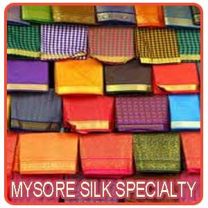 Mysore Silk Specialty