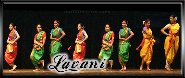Indian Folk Dance Costumes Lavani Indian Folk Dance