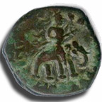 Coin of Kushan Dynasty