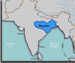 Magadha map