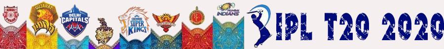 2020- IPL T20 Cricket