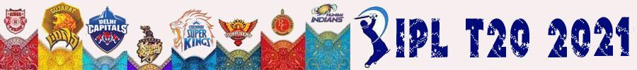 2021- IPL T20 Cricket