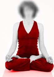 Yoga lotus sukhasana