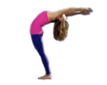 half moon pose ardhachandra asana yoga posture