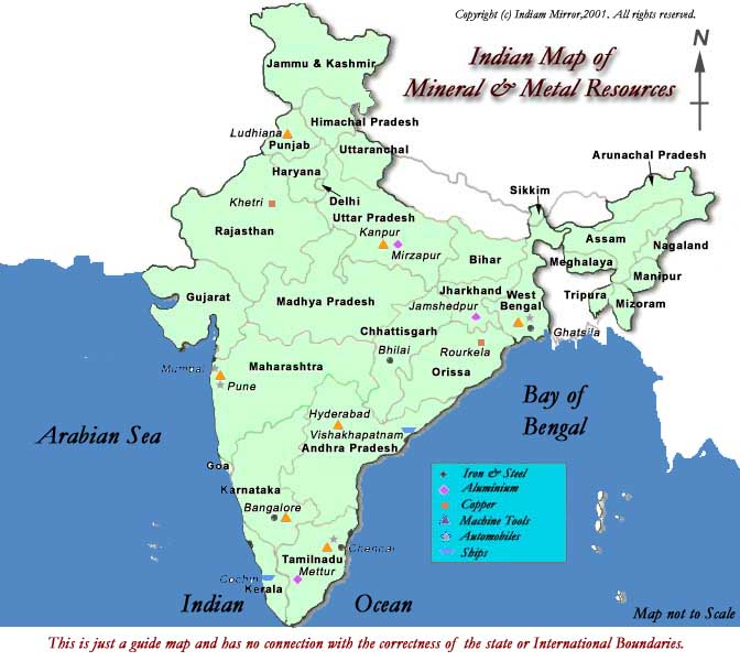 Different Types Of Natural Resources Found In India