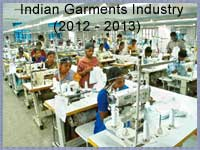 Indian Garments Industry in 2012-2013