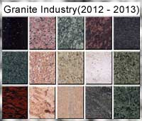 Indian Granite Industry in 2012-2013
