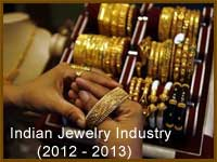 Indian Jewellery industry in 2012-2013