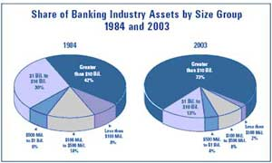 Share of Banking Industry