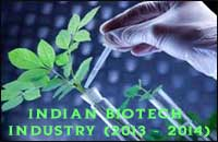 Indian Biotechnology Industry in 2013-2014