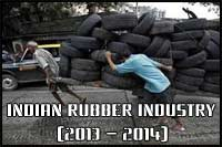 Indian Rubber industry in 2013-2014