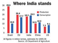 Indian Sugar Industry, Sugar Industry in India, Sugar
